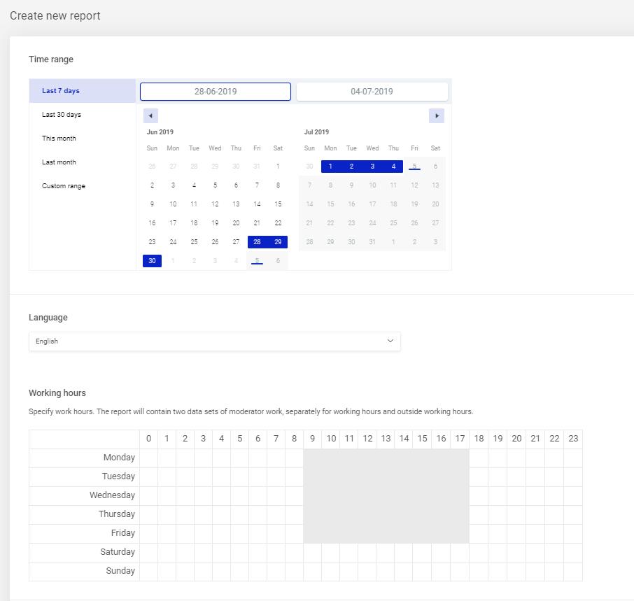 how to create inbox activity report